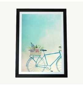 A Be Beautiful Framed Print