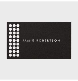 Perforated Gold Photographer's Business Card