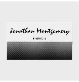 Perforated Metal Professional Business Cards