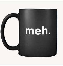 meh Mug - Black