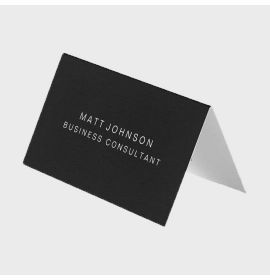 Professional Elegant Folded Business Card