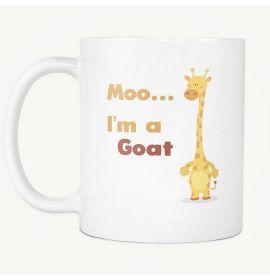 Moo I'm a Goat Mug