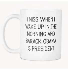 The Morning And Barack Obama Is President Mug